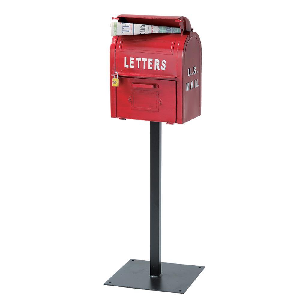 セトクラフト U.S.MAIL BOX レッド SI-2855-RD-3000