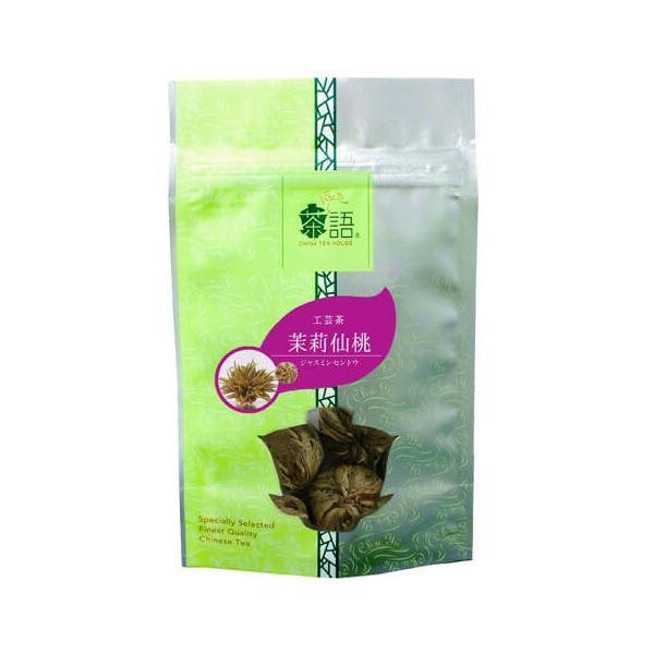 【同梱代引き不可】茶語(チャユー) 中国茶 工芸茶 茉莉仙桃 25g×12セット 43002