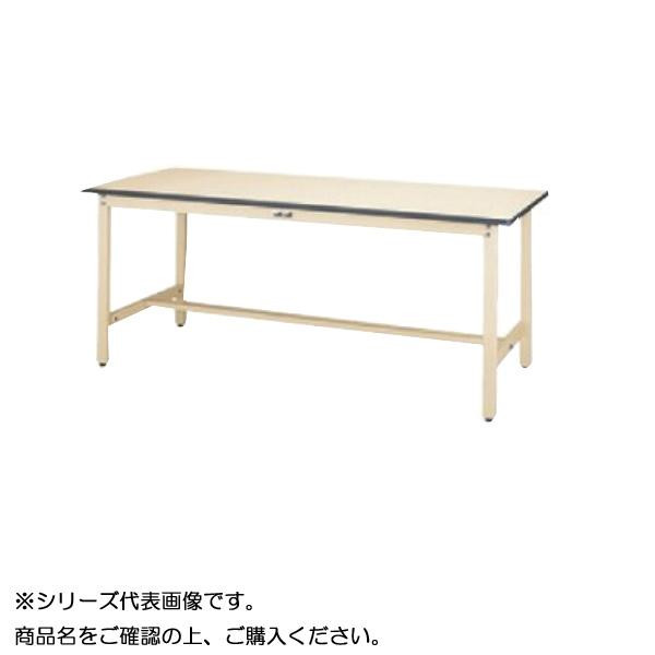 【同梱・代引き不可】 SWRH-1890-II+S2-IV ワークテーブル 300シリーズ 固定(H900mm)(2段(浅型W394mm)キャビネット付き)