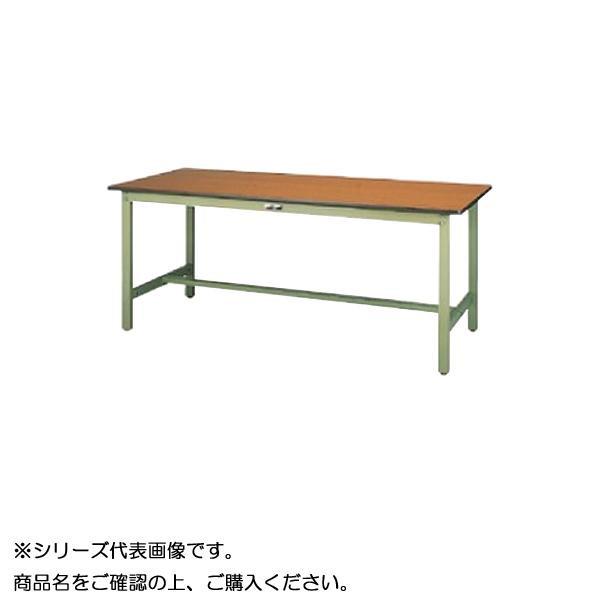 【同梱代引き不可】SWPH-1560-MG+S3-G ワークテーブル 300シリーズ 固定(H900mm)(3段(浅型W394mm)キャビネット付き)