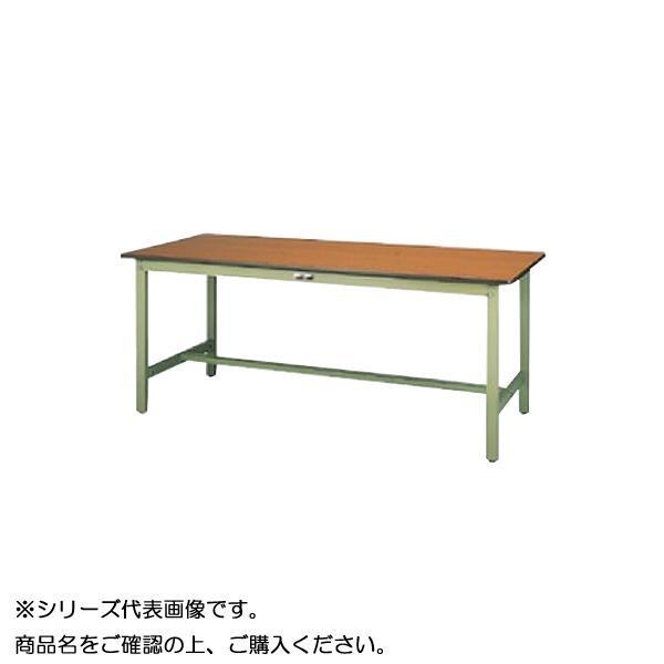 【同梱・代引き不可】 SWPH-1890-MG+L2-G ワークテーブル 300シリーズ 固定(H900mm)(2段(浅型W500mm)キャビネット付き)