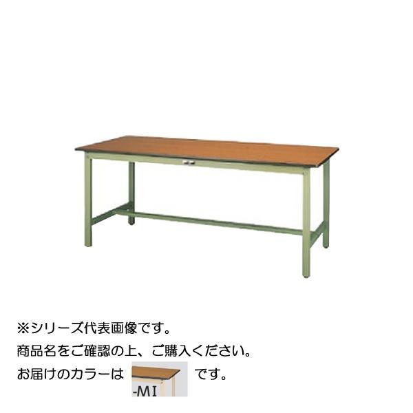 【同梱代引き不可】SWPH-1875-MI+L3-IV ワークテーブル 300シリーズ 固定(H900mm)(3段(浅型W500mm)キャビネット付き)