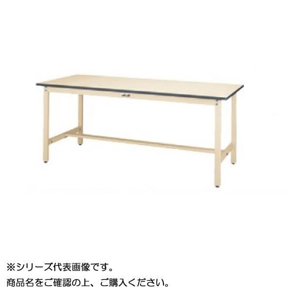 【同梱・代引き不可】 SWR-1590-II+D2-IV ワークテーブル 300シリーズ 固定(H740mm)(2段(深型W500mm)キャビネット付き)