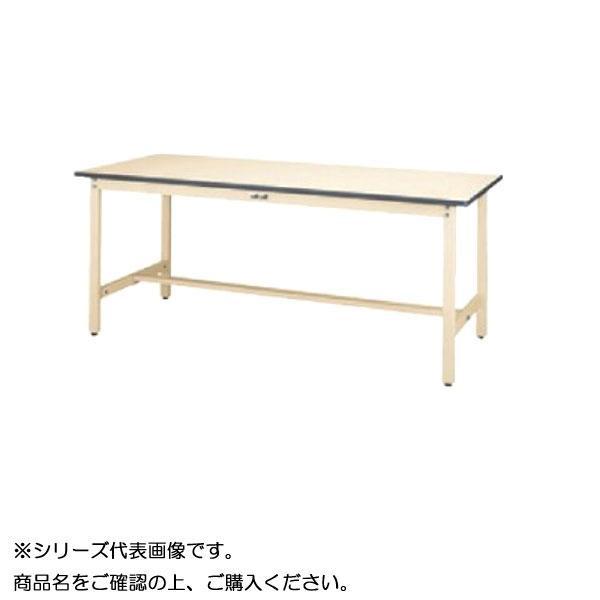 【同梱・代引き不可】 SWRH-960-II+D2-IV ワークテーブル 300シリーズ 固定(H900mm)(2段(深型W500mm)キャビネット付き)