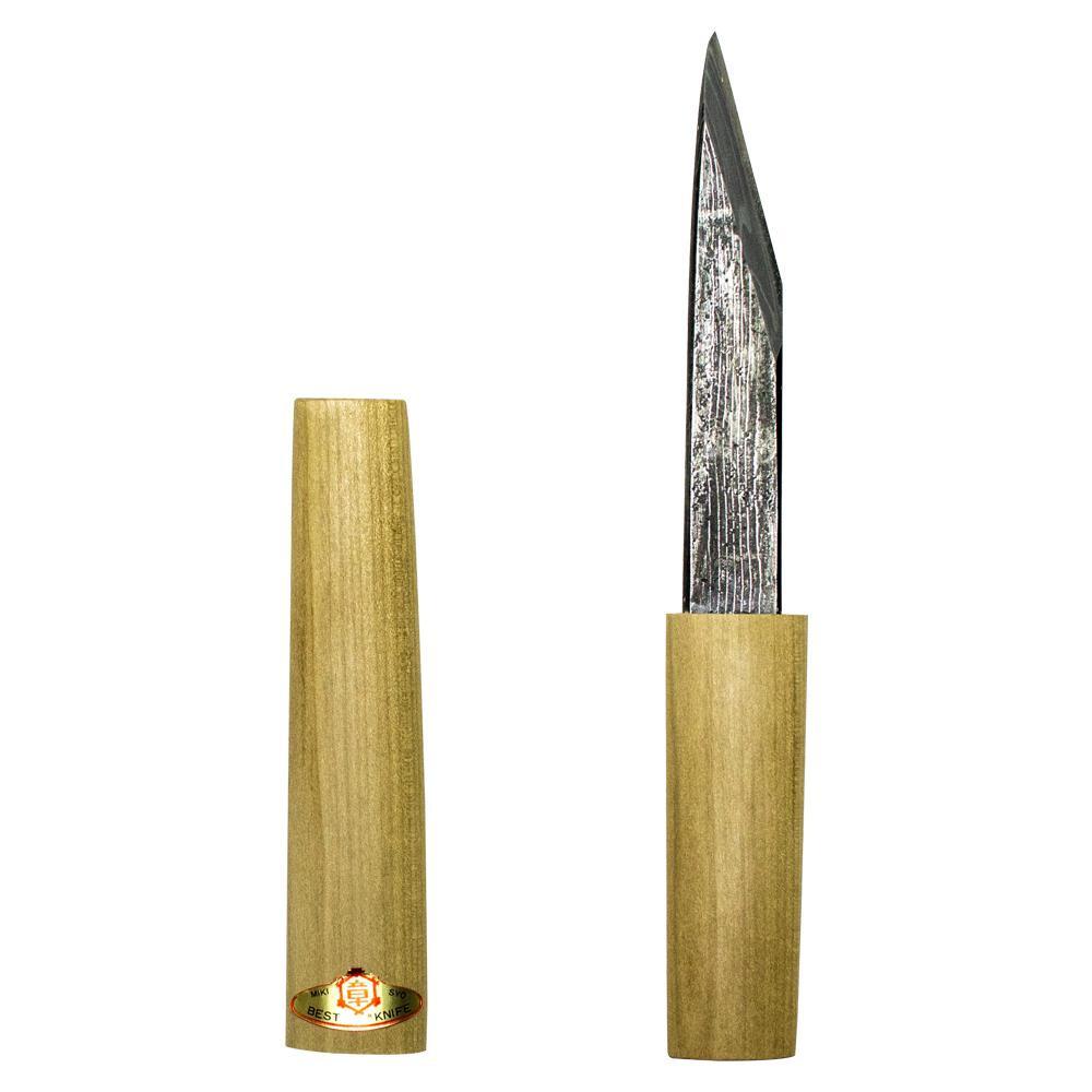三木章刃物本舗 手造り小刀 横手小刀 年輪 135mm 522016