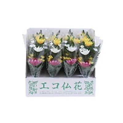 ニューホンコン造花 ニューエコ仏花(ラップ入・展示箱付)20本入 141207