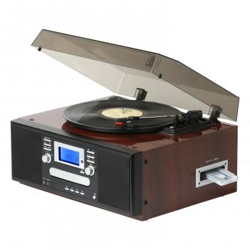 鏡面ピアノ仕上げ きれいなピアノ仕上げのダブルCDコピーマルチプレーヤー 大決算セール ブラウン TS-7885PBR 送料無料 新品