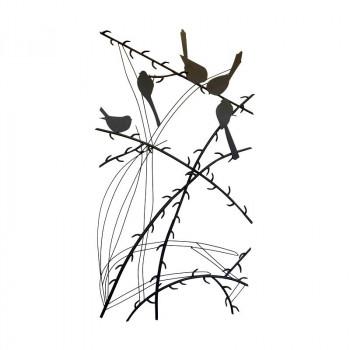 どんなお部屋にもあわせやすい 安売り 同梱 代引き不可 かわ畑 ウォールアートパネル 壁掛け 壁飾り 鳥 大注目 1808TSF003