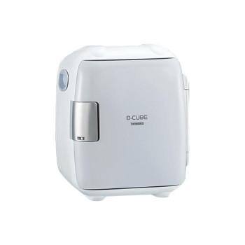 【同梱代引き不可】 ツインバード 2電源式コンパクト電子保冷保温ボックス グレー HR-DB06GY 198533-084