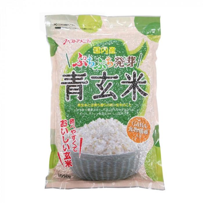 【同梱・代引き不可】 もち麦シリーズ ぷちぷち発芽青玄米 1050g 10入 K10-203