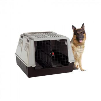 【同梱代引き不可】 ファープラスト アトラスカー MAXI 犬・猫用キャリー グレー 73110021