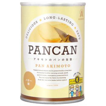 【同梱代引き不可】 アキモトのパンの缶詰 プレミアムシリーズ 1年保存 バター味 24缶入り