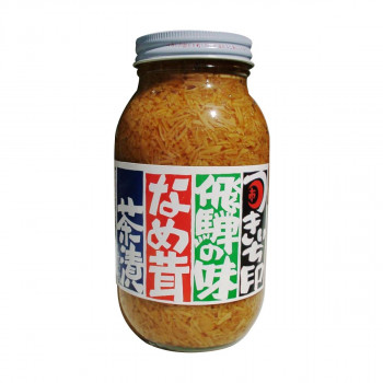 白米のお供に 同梱 代引き不可 ●手数料無料!! お求めやすく価格改定 山一商事 なめ茸瓶 8715 固形80%タイプ 900g×12個