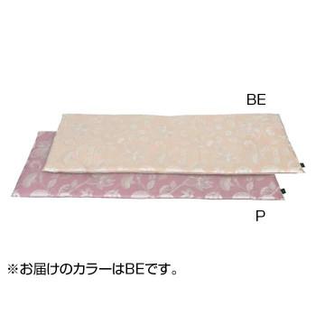 インテリアに合わせやすく 飽きのこないデザイン 川島織物セルコン ミントン ふるさと割 バーゲンセール グレースハドン BE 46×150cm ロングシート ベージュ LN1207