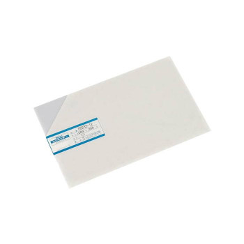 加工などに使えるプラスチック板 EB233-12 超特価 エンビ板 781708 3×200×300mm 爆買い新作 乳半