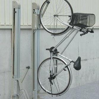 【同梱・代引き不可】ダイケン 自転車ラック 垂直式吊り下げラック サイクルフック CF-B 1台用