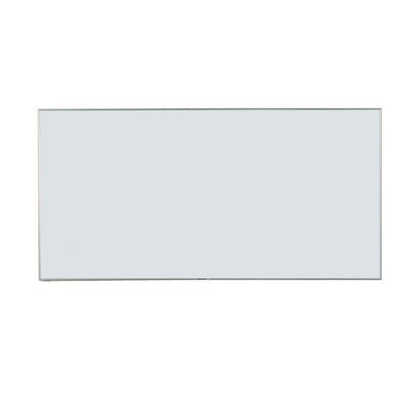 【同梱・代引き不可】馬印 Nシリーズ(エコノミータイプ)壁掛 無地ホワイトボード W1800×H900 NV36