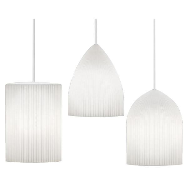 ELUX(エルックス) VITA(ヴィータ) Ripples(リプルス) 1灯ペンダントライト ホワイトコード