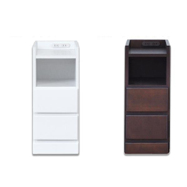 【同梱・代引き不可】ナイトテーブル エッセ W22.5