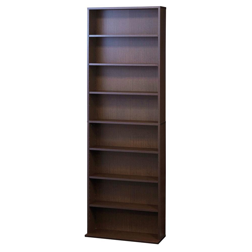 文庫本棚 W600 S ブラウン 39411