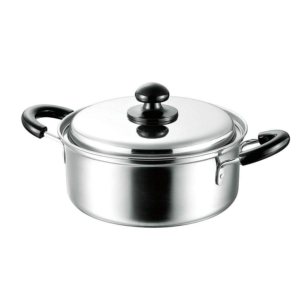 現金特価 毎日のお料理に大活躍 まいにち使いの両手鍋 直輸入品激安 MZP-20W 20cm