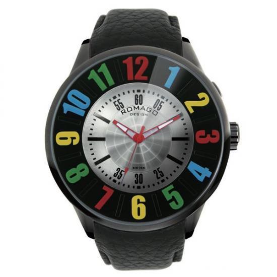 ROMAGO DESIGN (ロマゴデザイン) Numeration series ヌメレーションシリーズ 腕時計 RM007-0053ST-RD