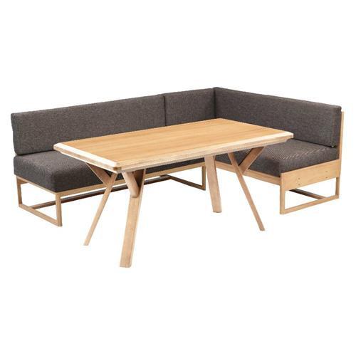 【同梱代引き不可】こたつテーブル用 LDビートル ソファ ナチュラル 横背付 138 Q124