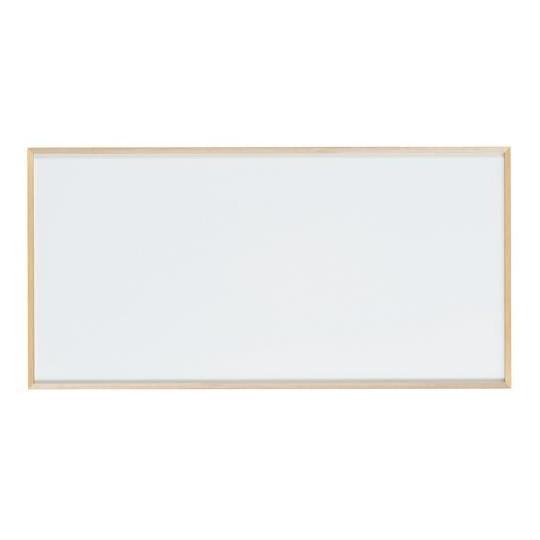 【同梱代引き不可】馬印 木枠ボード ホワイトボード 1800×900mm WOH36