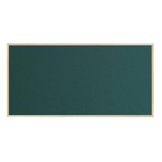 【同梱・代引き不可】 馬印 木枠ボード スチールグリーン黒板 1800×900mm WOS36