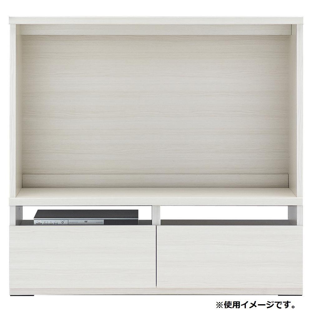 【同梱・代引き不可】 フナモコ リビングシェルフ テレビボード ホワイトウッド LTS-120