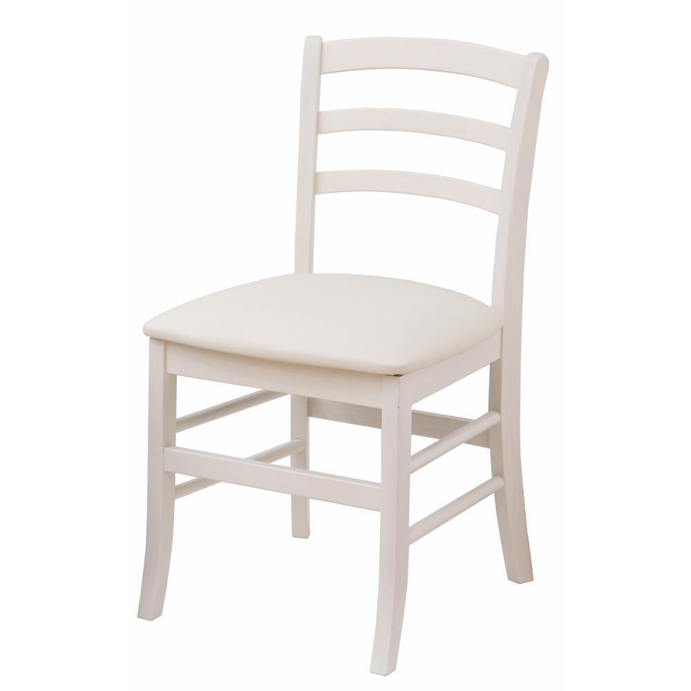 【同梱代引き不可】ine reno chair(vary) INC-2821WH