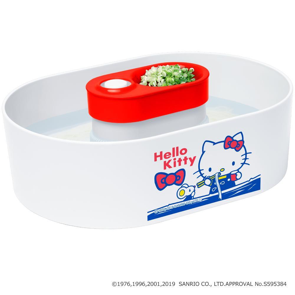 サンリオキャラクターズ 流しそうめん器 全自動タイプ(つゆ鉢1個付き) ハローキティ
