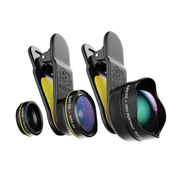 BLACK EYE(ブラックアイ) スマホ用クリップ式レンズ TRAVEL KIT G4