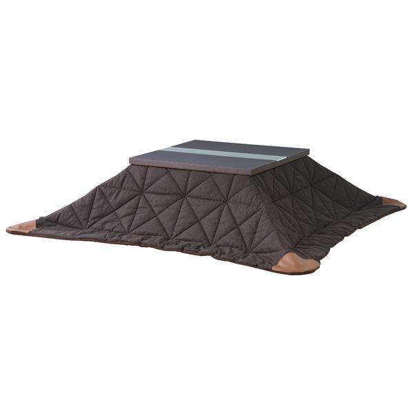 薄掛けこたつ布団 長方形 (190cm×230cm) 合皮 Leather KK-110