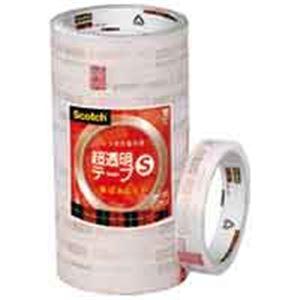 スリーエム 3M 超透明テープS BK-18N 工業用包装 200巻