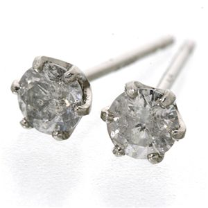 Pt900 ダイヤモンドピアス0.3ct スタッドピアス プラチナ