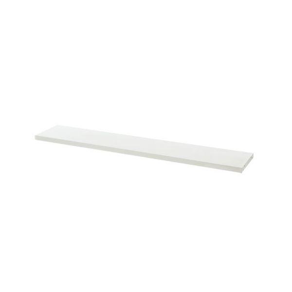 プラス 平机用棚板 LJ/RJ-14TI ホワイト W1400用