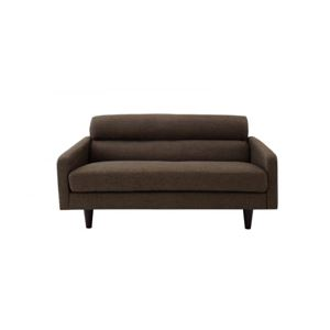 ソファー 幅75cm ブラウン スタンダードソファ【OLIVEA】オリヴィア