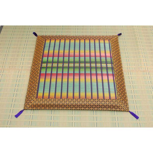 純国産 掛川織 い草御前(仏前)座布団 『掛川』 約70×70cm
