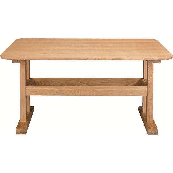 ダイニングテーブル 【デリカ】 長方形 木製 4人掛けサイズ HOT-456NA ナチュラル