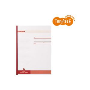 (まとめ)TANOSEE ノートA4 A罫 40枚 80冊