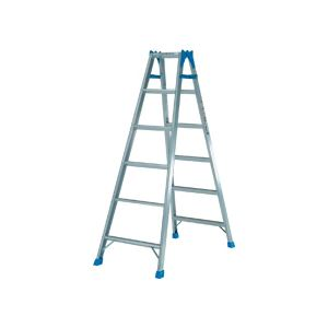 ピカ ステップ幅広 はしご兼用脚立 1680mm KW-180 1台