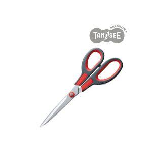 (まとめ)TANOSEE はさみチタンコート刃 85mm 10本