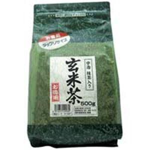 (業務用20セット)国太楼 国太楼 たっぷり抹茶入 玄米茶 500g