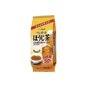 (業務用50セット)伊藤園 ワンポットほうじ茶ティーバッグ50袋
