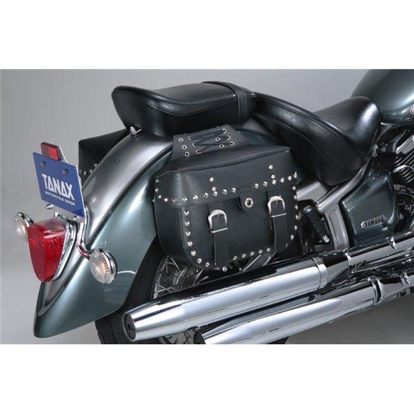 タナックス(TANAX) MOTO FIZZ アメリカン サイドバッグ 4