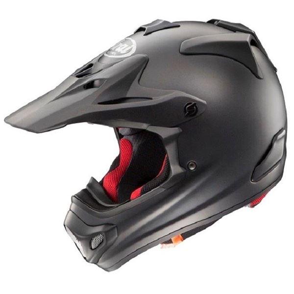 アライ(ARAI) オフロードヘルメット V-CROSS4 フラットブラック 57-58cm M