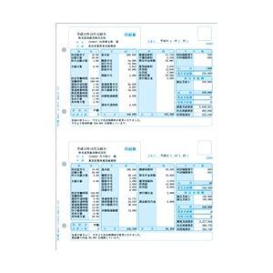 給与明細書ページプリンタ・インクジェットプリンタ兼用用紙