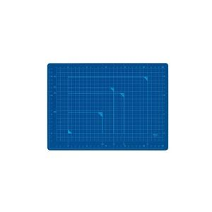 (業務用100セット) プラス カッターマット A4 BL CS-A4 青