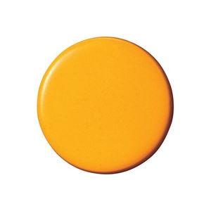 (業務用30セット) ジョインテックス 両面強力カラーマグネット 30mm橙 B271J-O 10個